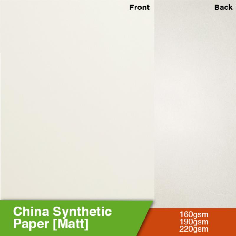 China Synthetic Paper [Matt]